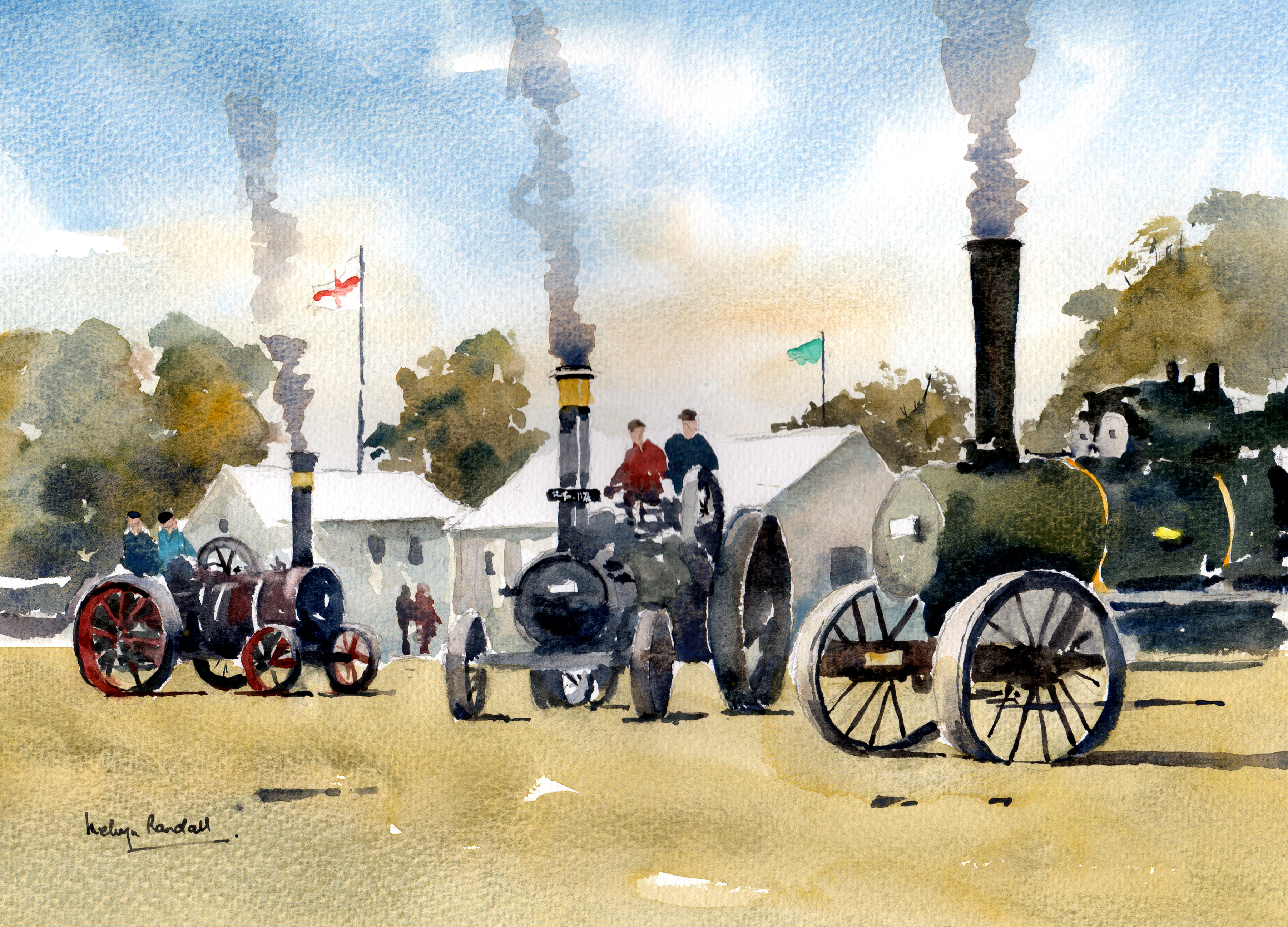 The Steam Rally