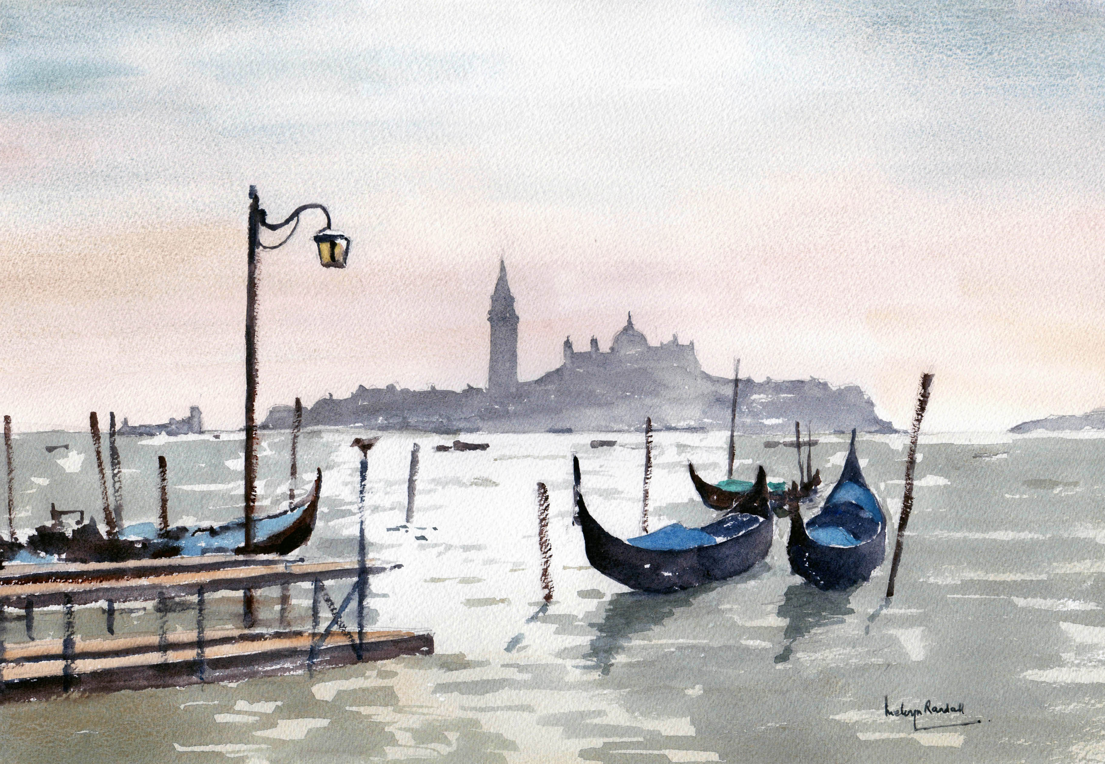 'Evening in Venice'