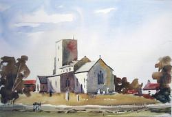 Morston Church,  North Norfolk