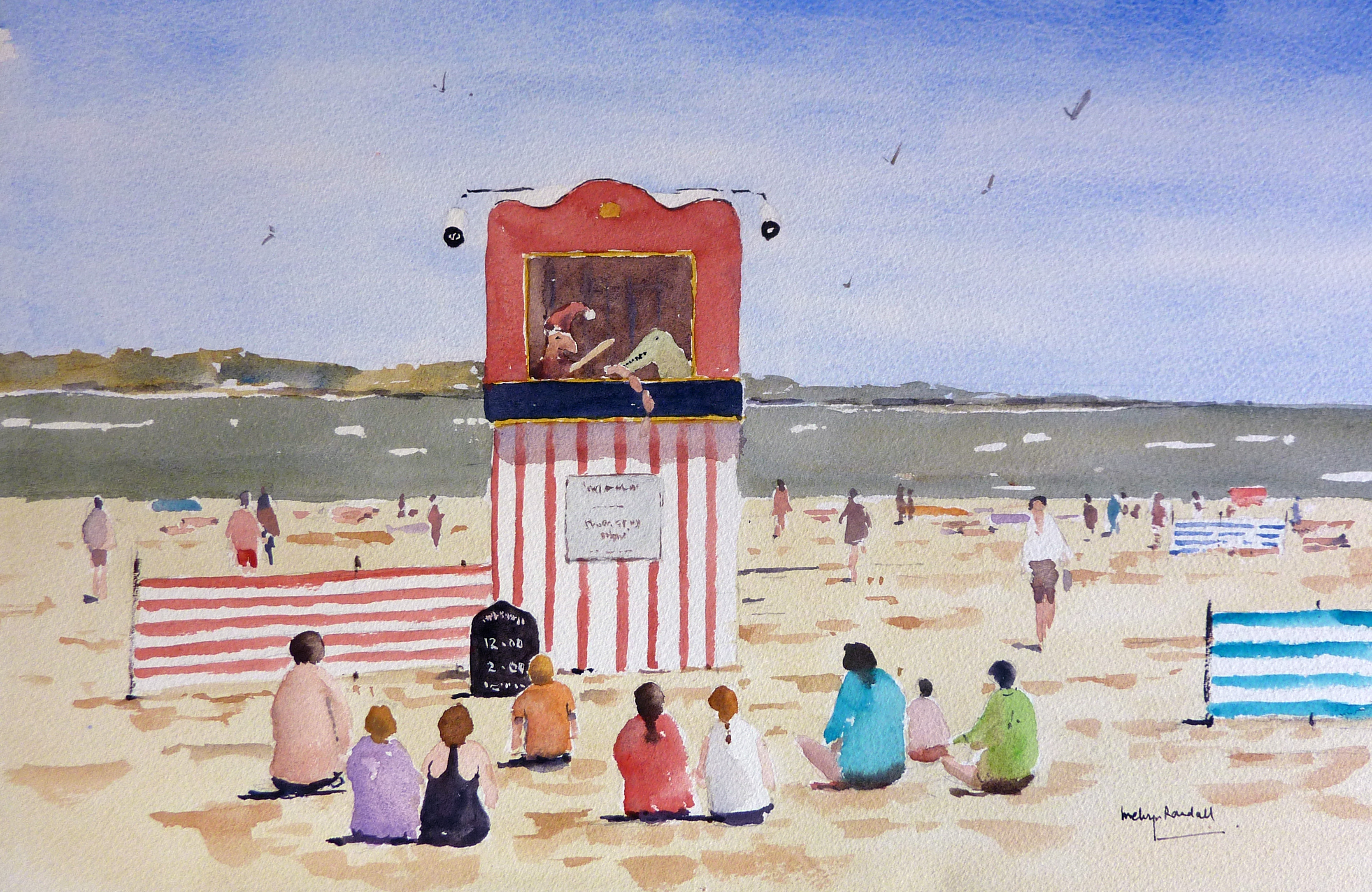 Punch and Judy Weymouth Beach
