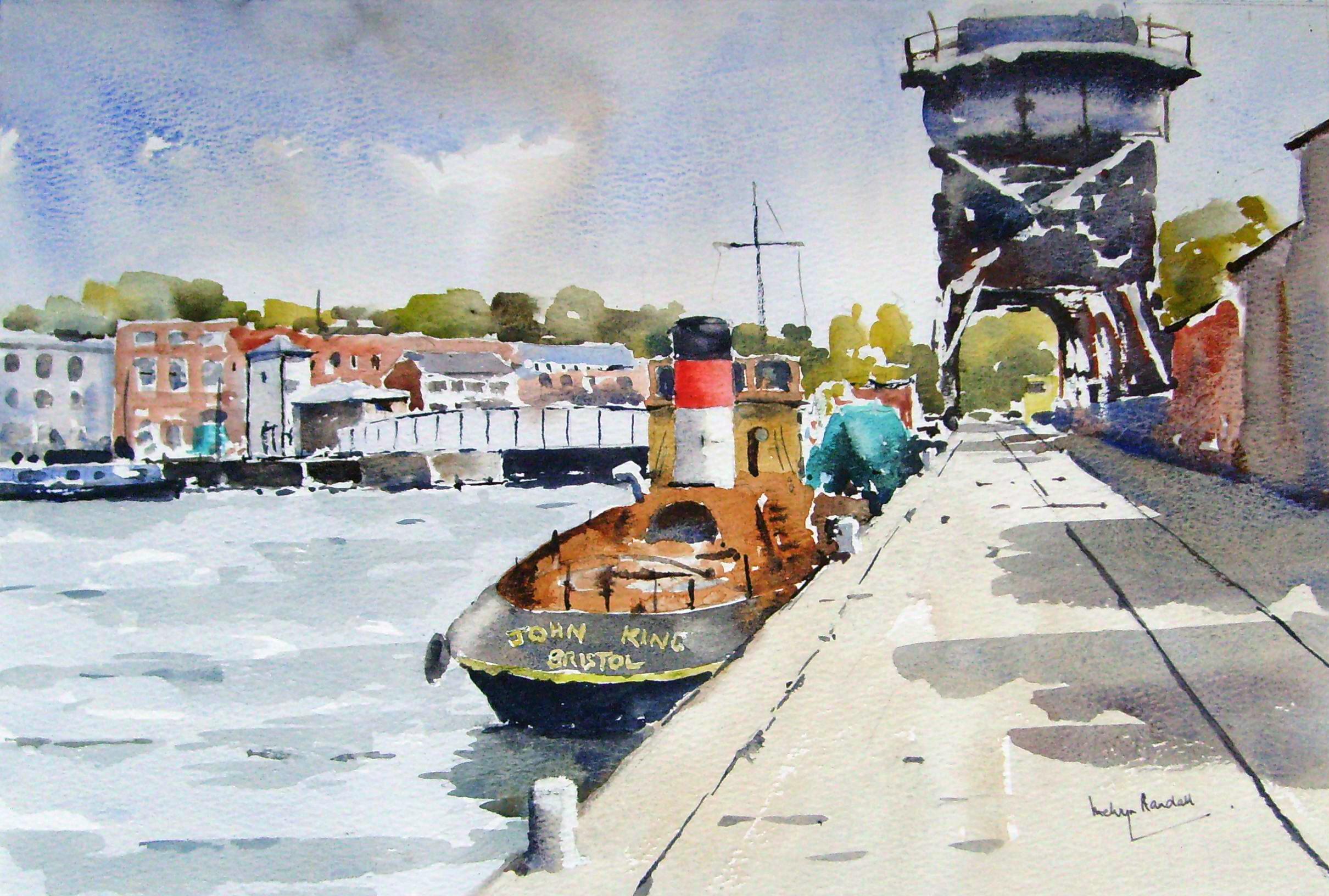 John King Tug, Bristol City Docks