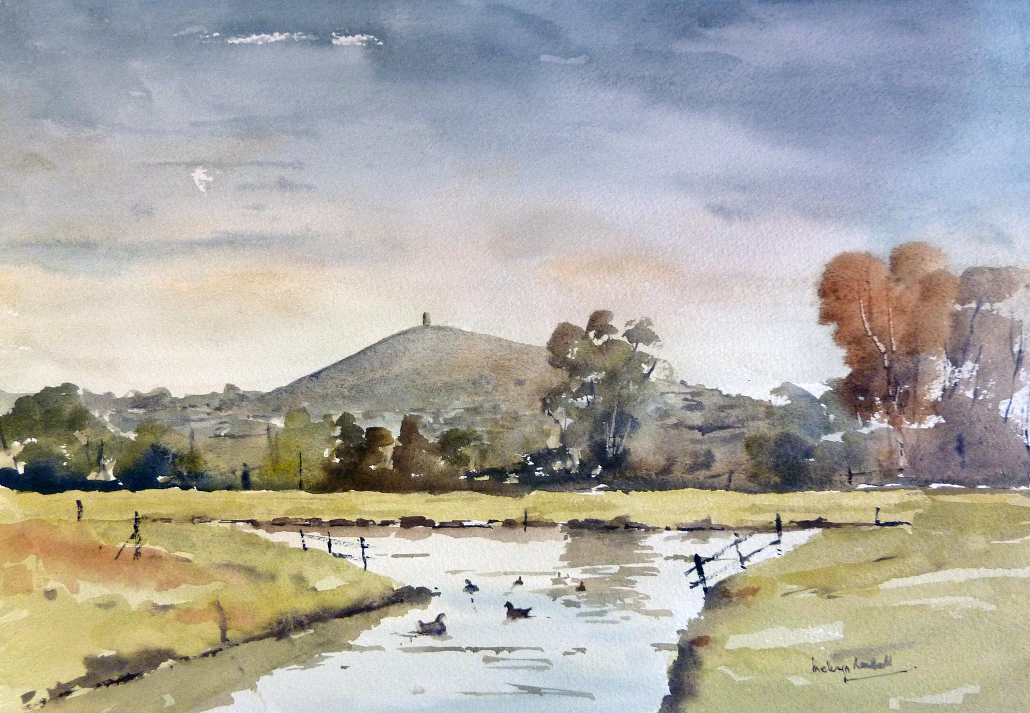 Glastonburyt Tor Somerset