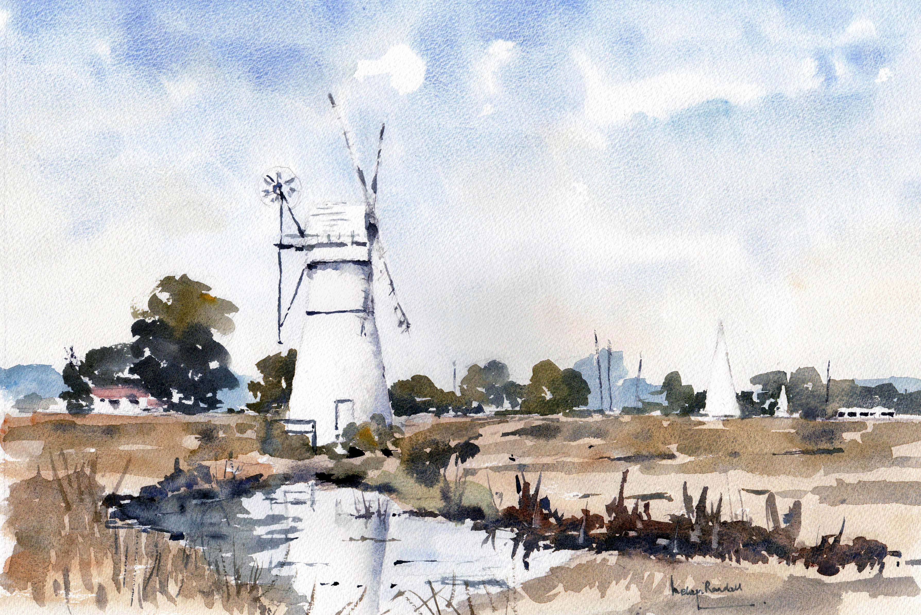 Thurne Mill, The Norfolk Broads