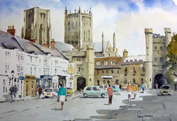 Wells, Somerset. Market Square