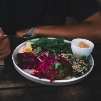 Healthy Salad with Hemp
