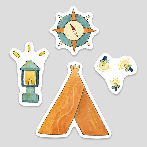 Campsite Sticker Pack