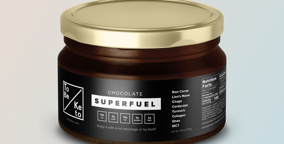 Chocolate SuperFuel Jar BG