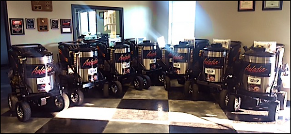 Wease Equipment Pressure Washer Showroom
