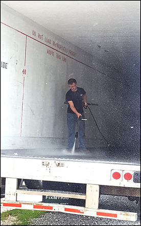 Wease Equipment Truck and Trailer Washout