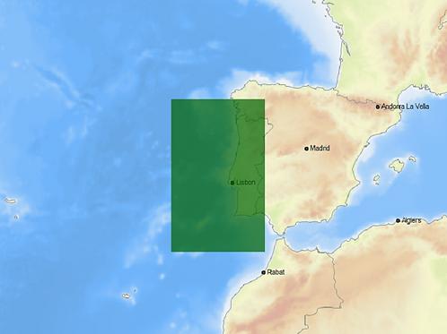 Carta C-MAP MAX Local - COSTA PORTUGUESA