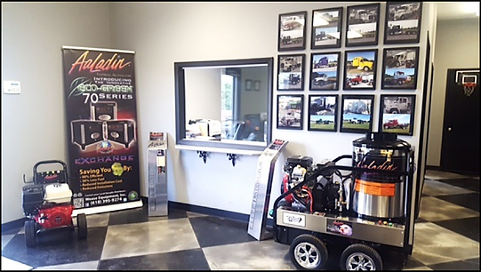 Wease Equipment Showroom