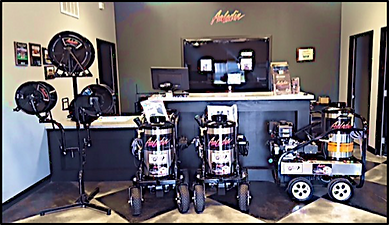 Wease Equipment Pressure Washer and Parts Showroom
