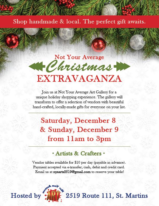 NYA-Christmas-Extravaganza-Poster