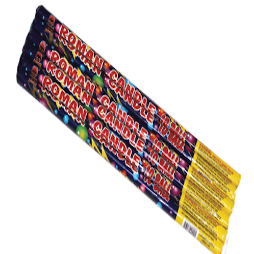 10 Ball Roman Candle 6 Pack