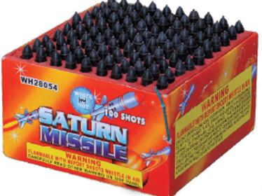 100 Shot Saturn Missiles