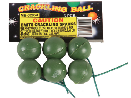 Crackling Ball MB 6 pack