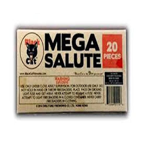 Mega Salute Black Cat
