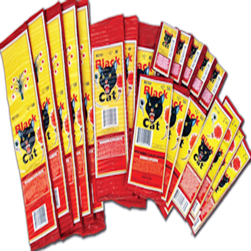 Blackcat Firecrackers 1-1/2 (200 Pack Bundle)