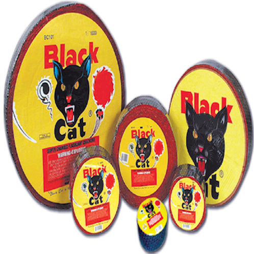 Blackcat Firecrackers 1-1/2 (1000  Roll)
