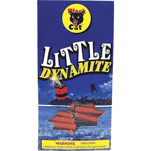 Little Dynamite Black Cat