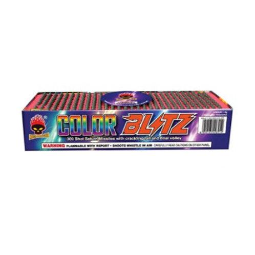 Color Blitz 300 Shot Saturn Missiles