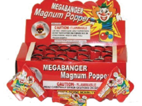 Magnum Pistol Popper (Sold Individually)
