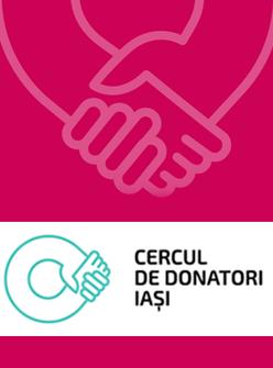 Campanie media realizata pentru Cercul de Donatori Iasi