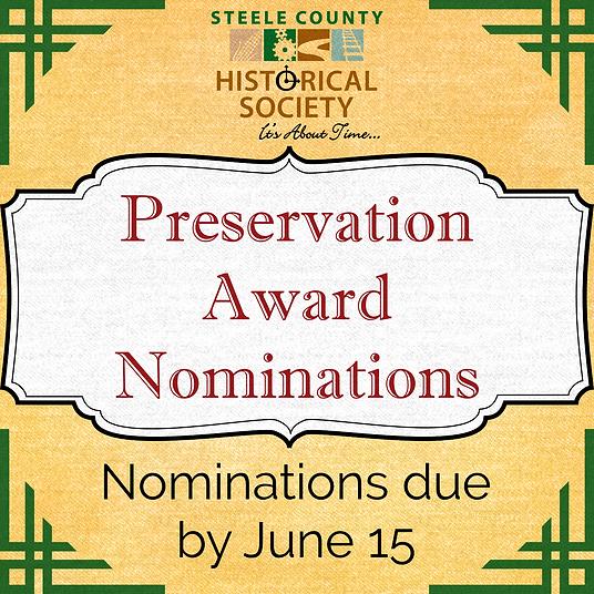 Preservation Award - Social Media Announ