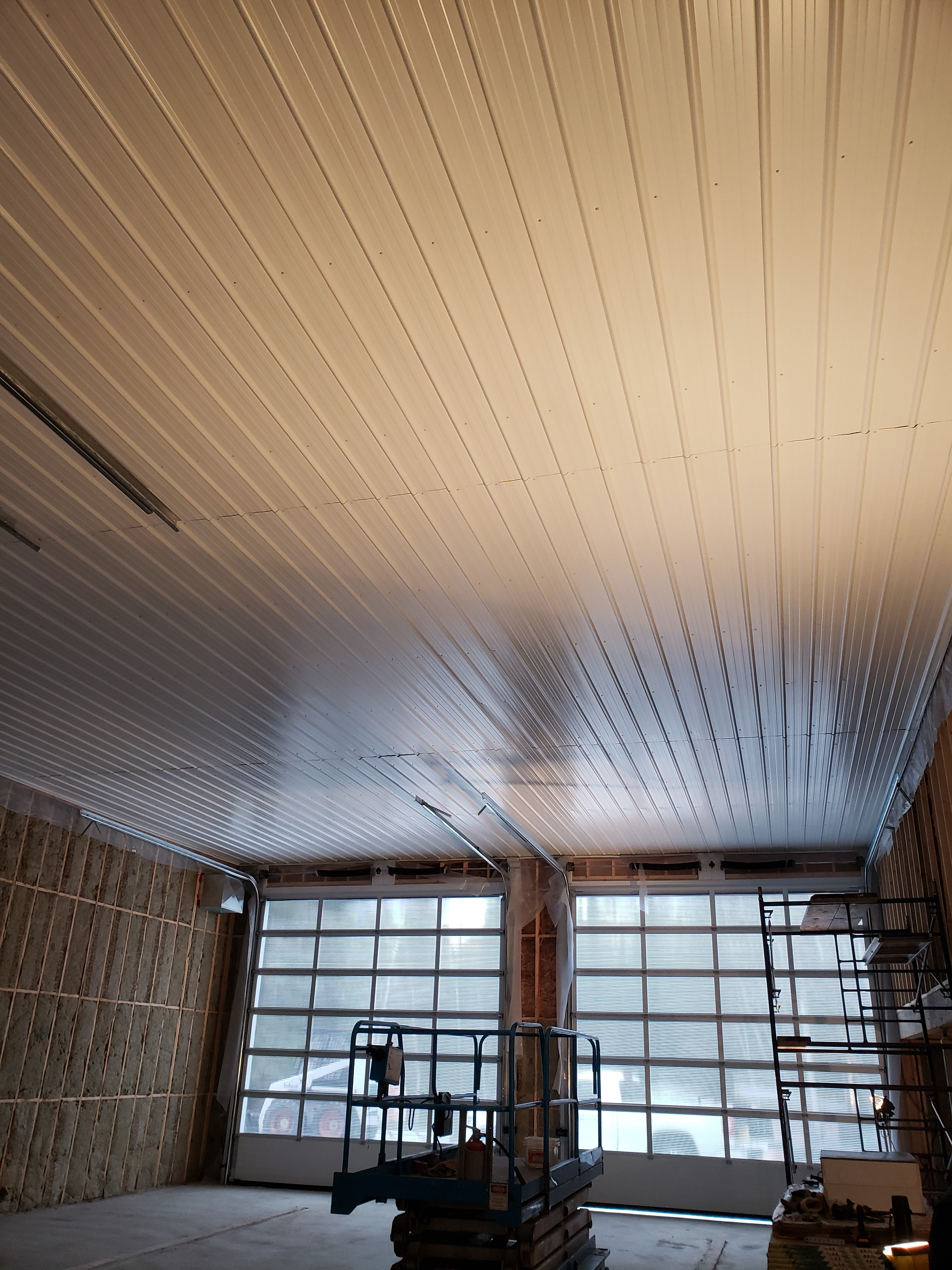Groomer shed ceiling pic 2