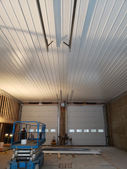 Groomer shed ceiling pic 1