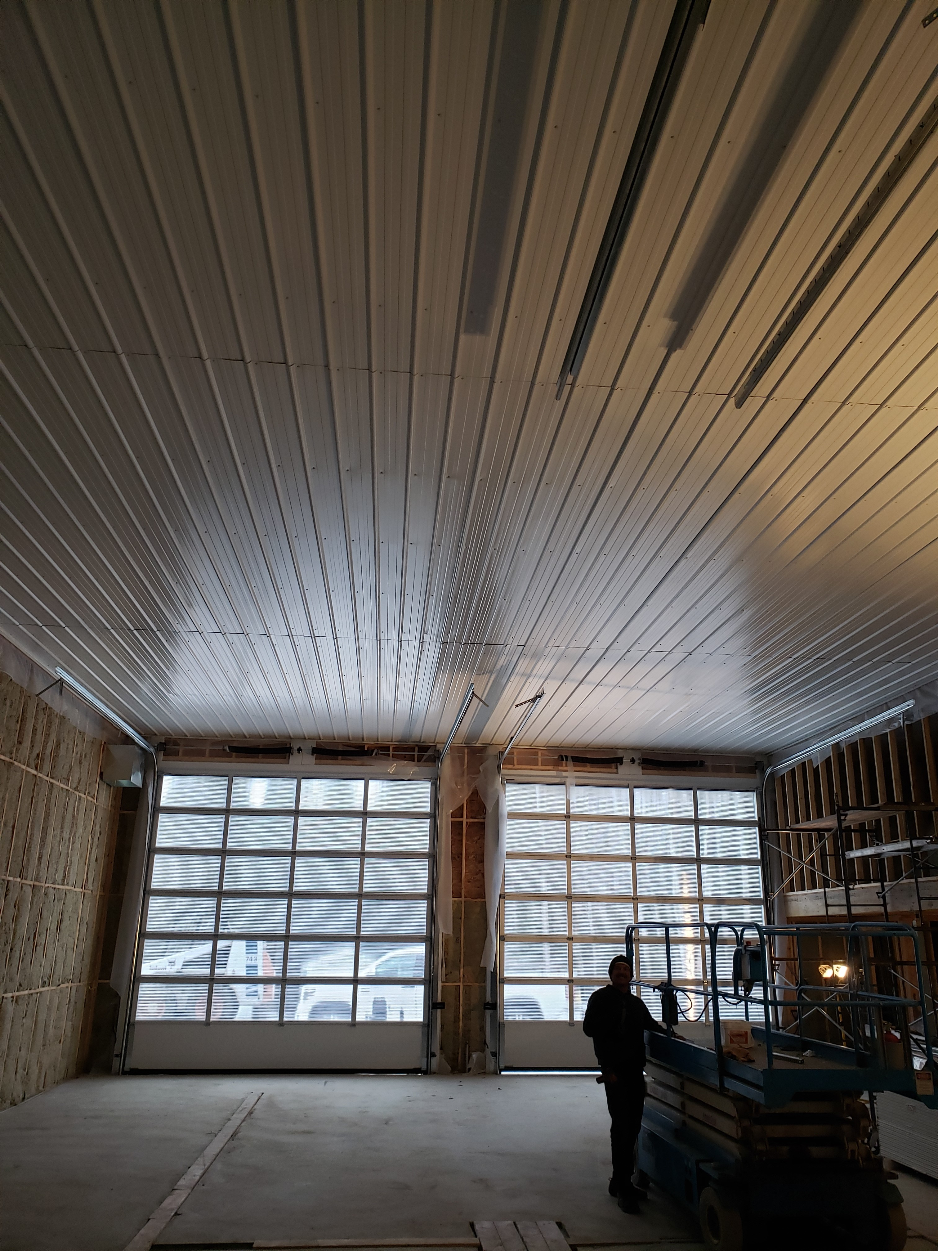 Groomer shed ceiling pic 3