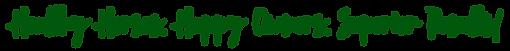 Superior Equine Healt & Nutrition Slogan