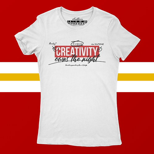 Creativity Owns The Night