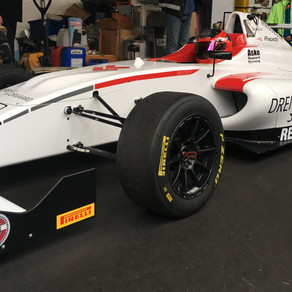 Aske Nygaard Bramming is now in formula 4 and we are still with him