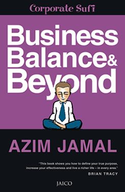 Azim Jamal The Corporate Sufi Business, Balance & Beyond Book Cover