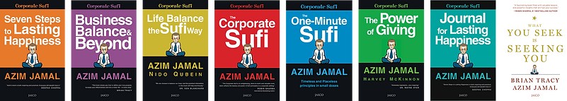 Azim Jamal The Corporate Sufi Book Covers