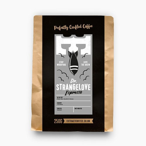Extract Coffee 250g - Dr Strangelove
