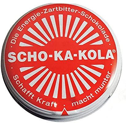 Scho-Ka-Kola Energy Chocolate