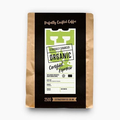 Extract Coffee 250g - Organic Espresso