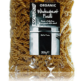 Organic Wholewheat Fusilli