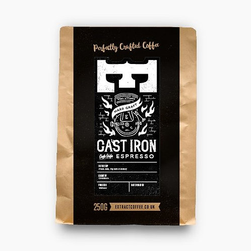 Extract Coffee 250g - Cast Iron