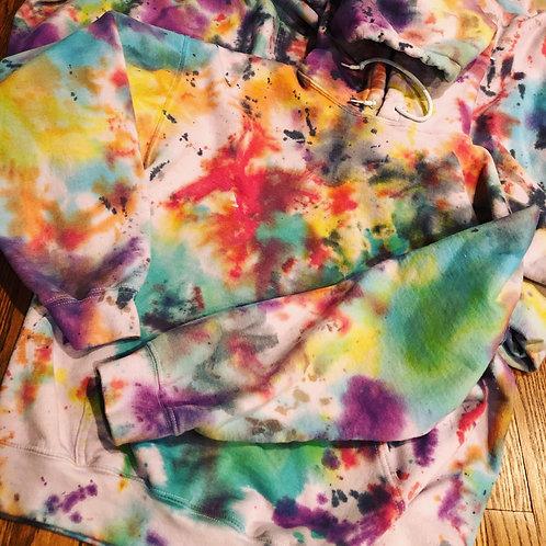 Double dye hoodie