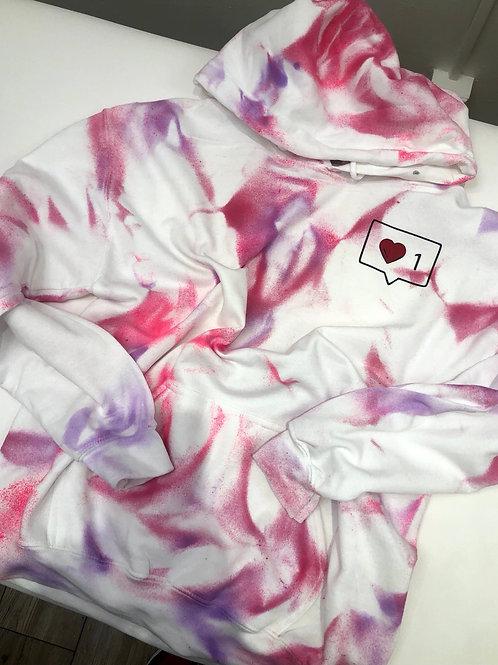 Heart like hoodie