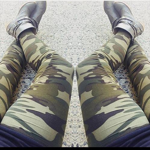Camo Legging