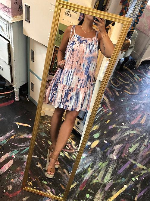 Sky swing dress