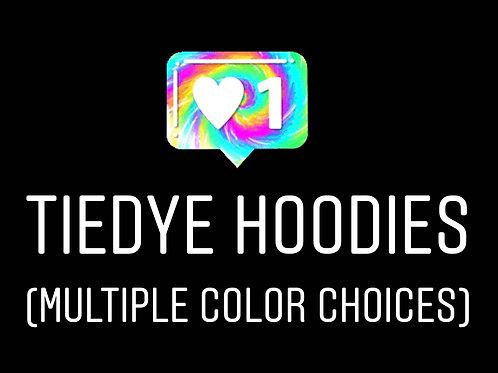 tye dye HOODIE (multiple colors)