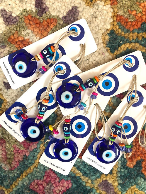 Eye charm decor