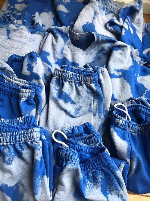 KIDS bleachy sweatsuits