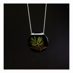 Biojóia de Arruda + raízes - Proteção e boa energia - R$ 56