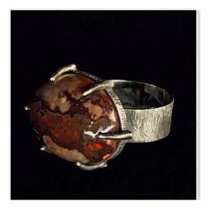 """Anel """"Pedra Lascada"""", coleção Paleolítico - R$ 520"""
